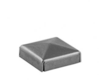 Capac stâlp din fier forjat, pătrat, grosime 1,2 mm