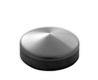 Capac stâlp din fier forjat, rotund, grosime 1,2 mm